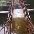 В Кривом Роге мост затонул спустя неделю после ремонта