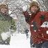 В Кривом Роге выпал снег на радость и взрослым, и детям